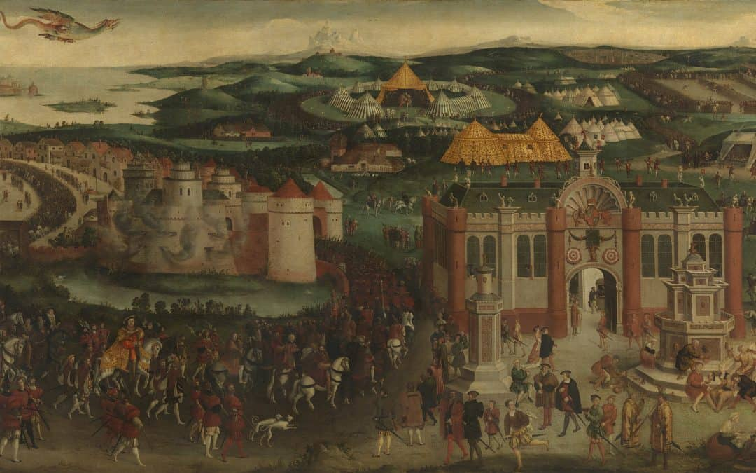 500TH ANNIVERSARY OF THE FIELD OF CLOTH OF GOLD